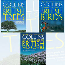 Paul Sterry Collection (British : Wild Flowers,Trees, Birds) 3 Books set