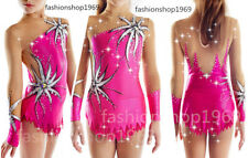 New Ice Figure Skating Dress Gymnastric Rhythmic Dress For Competition xx590