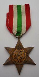 WW2 GENUINE ITALY STAR MEDAL