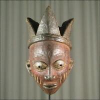 42930) Afrikanische Yoruba Maske Nigeria Afrika KUNST