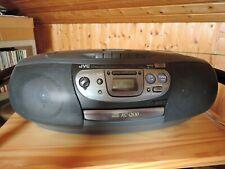 JVC RC-QS10 tragbares Radio Radiorecorder Stereo CD und Kassette