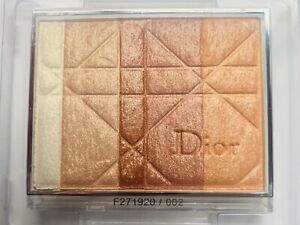 Dior Diorskin Poudre Shimmer Powder-Highlight for Face #002 Amber Diamond *NEW*