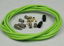 HYDRAULIC DISC BRAKE HOSE KIT FOR MAGURA MARTA LOUISE 3M 9.6FT GREEN