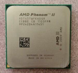 AMD Phenom II X6 1045T 2.7GHz Six-Core Socket AM3 CPU Processor