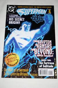 Superman Secret Files 1988 (DC) #1 1st Print