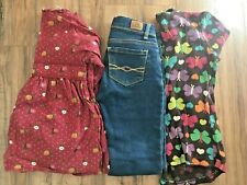 Girls Clothing Lot Gap Jordache Jeans Tops Winter Butterflies Floral Sz 5 5T