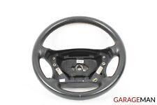 01-04 Mercedes W203 C240 C320 4 Spoke Steering Wheel 2034600903 Leather Black