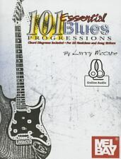 101 Essential Blues Progressions by Larry Mccabe