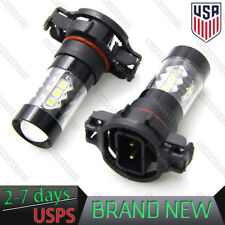 2 100W CREE 5202 H16 POWER Super White LED Fog Lights Driving Bulbs DRL 6000K US