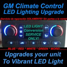 03-06 GM Silverado Climate Control LED Conversion SERVICE AC Air Heat 04 05