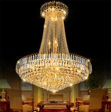 60*70cm Crystal Chandeliers Luxury Lighting Pendant Lamps Home Ceiling Fixtures