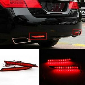 For Honda Accord Nine Generation 2014-2016 2015 LED Rear Bumper Lights Assembly