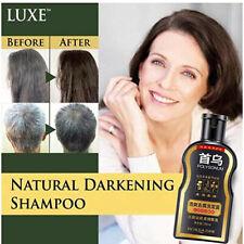 Natural Darkening Shampoo Permanent Black Hair Shampoo Natural Ginger Coloring