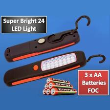 24 LED Ispezioni Cordless Magnetico Lampada Torcia Campeggio Luce Da Lavoro