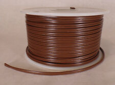 25 ft Brown 18/2 SPT-1 U.L. Listed Parallel 2 Wire Plastic Covered Lamp Cord 600