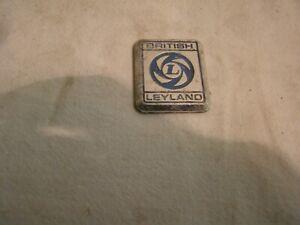 British Leyland badge.
