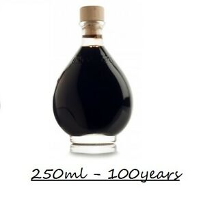 BALSAMIC VINEGAR OF MODENA ITALY 100 YEARS, QUANTITY 250ml. BEST FOOD ITALIAN...