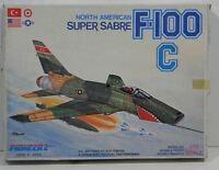 1/72 Pioneer 2 North American Super Sabre F-100 C Vintage Kit No. 4004