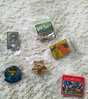 Toys R Us employee pins bundle collectables lot