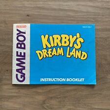 Kirby's Dream Land - Manual - Gameboy - FREE Combined Shipping