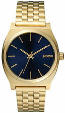 Reloj Hombre Nixon Time Teller A0451931 de Acero inoxidable ba?ado en oro Dorado