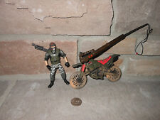 The Lost World Jurassic Park Dino-Snare Dirt Bike with Carter COMPLETE!