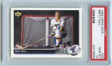 Brett Hull: 1992 Upper Deck #29 PSA 10 GEM MINT!