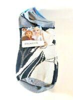 Disney Frozen II Princess's & Olaf 5pk Low Cut Footie Socks One Size (4-10) New