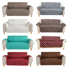 Quilted Sofa Cover Waterproof Nonslip Couch Loveseat Slipcover Pet Protector Mat