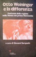 GIOVANNI SAMPAOLO OTTO WEININGER E LA DIFFERENZA GUERINI E ASSOCIATI 1995