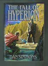 The Fall of Hyperion by Dan Simmons (1990, Hardcover Signed 1st Printing)