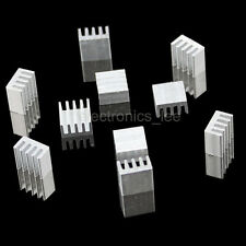 10pcs Aluminum Heat sink 9*9*5mm for 3d printer stepper motor driver board A4988