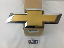 Chevrolet Silverado Chrome / Gold Front Grille Bow Tie Emblem new OEM 22786809