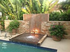 "TB50K:  DIY Fire Pit Kit: 50"" Long Fire Table/ Trough Burner w Mounting Kit SS31"