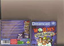 WORMS WORLD PARTY DREAMCAST DREAM CAST