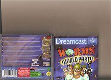 Worms World Party DREAMCAST reparto sueño