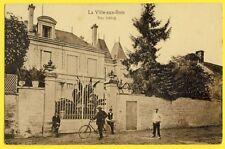 RARE Carte Militaire Allemande 02 - La VILLE aux BOIS lès PONTAVERT Das SCHLOSS