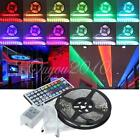 5M RGB 5050 SMD Non waterproof 300 LED Light Strip Flexible w/ 44 Key IR Remote