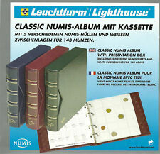 NUMIS CLASSIC COIN ALBUM + SLIPCASE with 10 x 20 pocket PAGES for AUSTRALIAN 50c