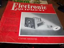 Electronic Equipment Magazine June 1955 (OS)