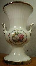 Seltmann Weiden E. Bavaria Porcelain Pink & White Rose Vase