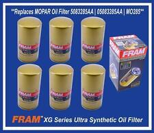 Set (6) Replaces MOPAR DODGE RAM 2500 3500 5.9L 6.7L DIESEL Oil Filter 5083285AA