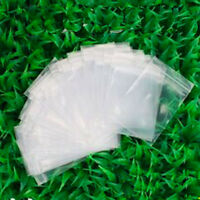 100pcs/Pack Clear Ziplock Zipped Lock Reclosable Plastic Poly Small Bags 6*9cm