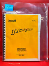 Indiana Jones Pinball Operations/Service/Repair /Troubleshooting Manual Guide G4