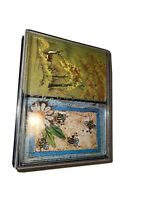 Vintage Duratone Double Deck Deer And Bees Plastic Coated Playing Cards