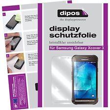 6x Samsung Galaxy Xcover 3 Pellicola Prottetiva Transparente Proteggi Schermo
