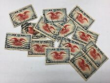 1930's Airmail Set Hollywood and Golden Gate postmark