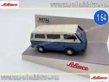 VW T3 Bus Blue & White SCHUCO - SC 452017200 - Echelle 1/64