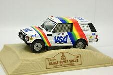Norev Presse Paris Dakar 1/43 - Range Rover Vogue 1981