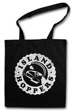 ISLAND HOPPERS LOGO Hipster Shopping Bag - Tom TV Selleck Hawaii Retro Magnum